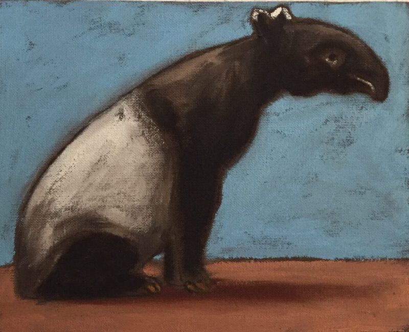 Foto Gemälde Tapir